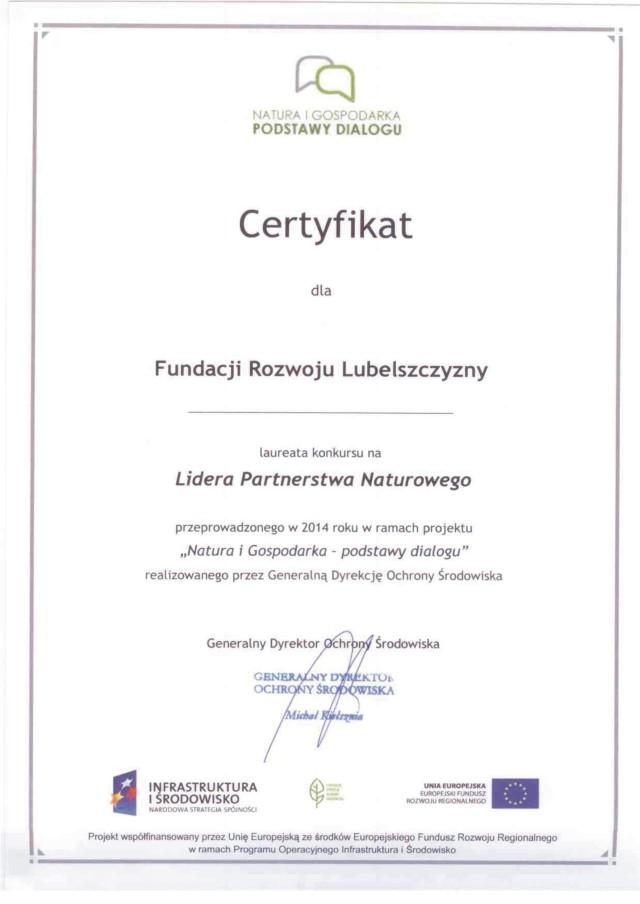 2014_Lider_Partnerstwa_Naturowego